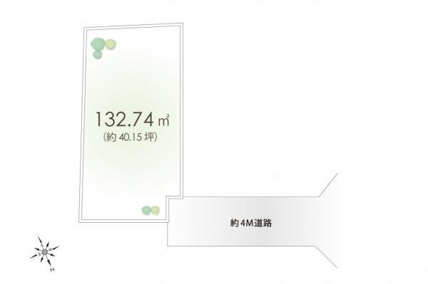 土地 所沢市上新井4丁目 西武池袋線小手指駅 2680万円