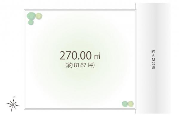 土地 入間市狭山台2丁目 西武池袋線入間市駅 2280万円