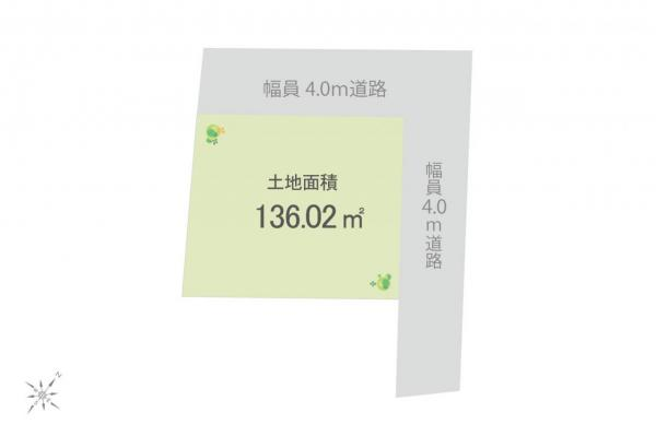 土地 入間市大字下藤沢 西武池袋線武蔵藤沢駅 1300万円