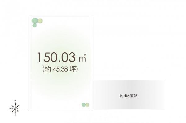 土地 所沢市星の宮2丁目 西武池袋線所沢駅 3850万円