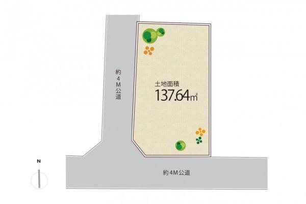 土地 練馬区貫井4丁目 西武池袋線富士見台駅 5600万円