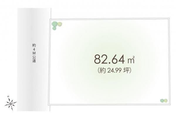 土地 朝霞市泉水3丁目 東武東上線朝霞台駅 1950万円