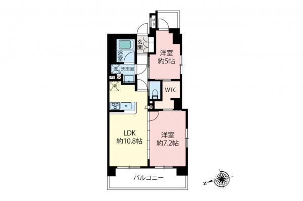 中古マンション 小金井市中町4丁目 JR中央線武蔵小金井駅 4599万円