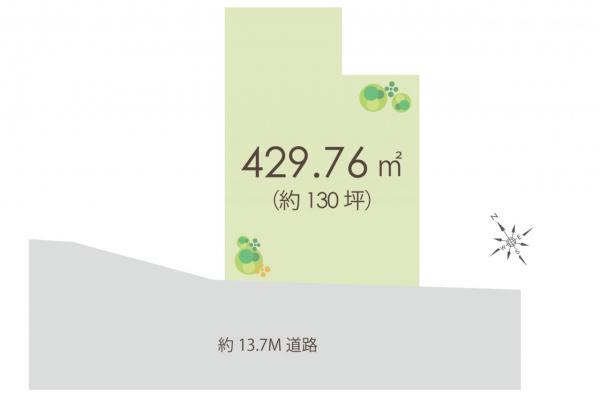 土地 所沢市けやき台2丁目 西武池袋線小手指駅 1億6580万円