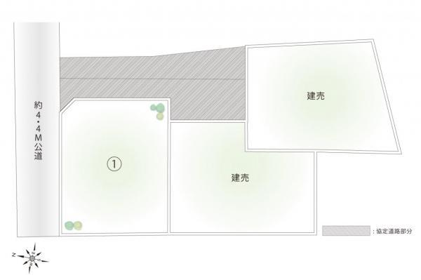 土地 富士見市大字水子 東武東上線みずほ台駅 1980万円