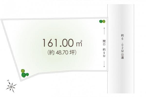 土地 富士見市大字水子 東武東上線柳瀬川駅 2580万円