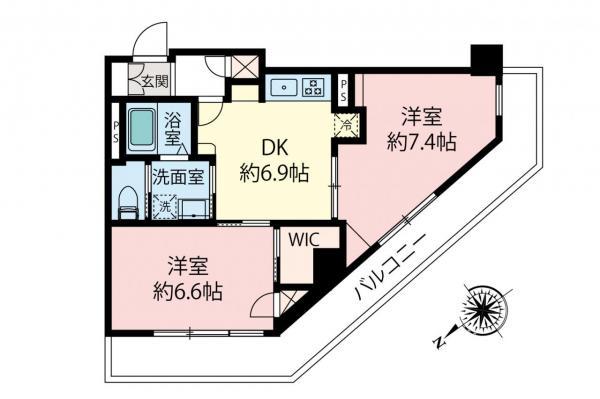中古マンション 小金井市本町1丁目 JR中央線武蔵小金井駅 2980万円