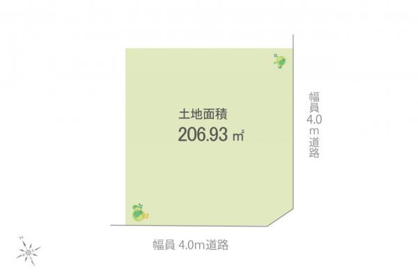 土地 日高市大字下高萩新田 JR川越線武蔵高萩駅 990万円