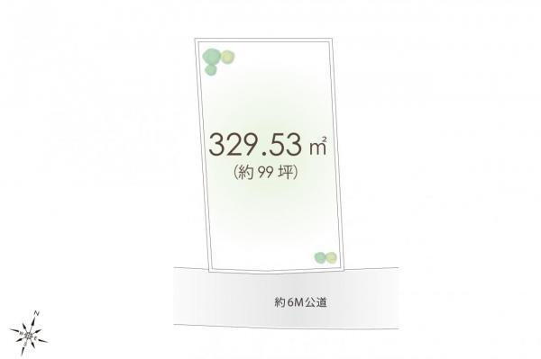 土地 日高市大字新堀 JR川越線高麗川駅 2180万円
