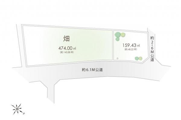 土地 日高市大字女影 JR川越線武蔵高萩駅 1198万円