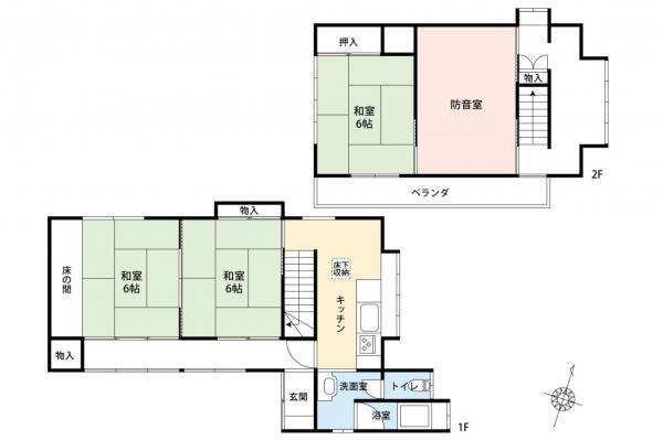 中古戸建 狭山市大字南入曽 西武新宿線入曽駅 1380万円
