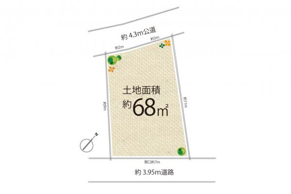 土地 新座市新座1丁目 東武東上線志木駅 1180万円
