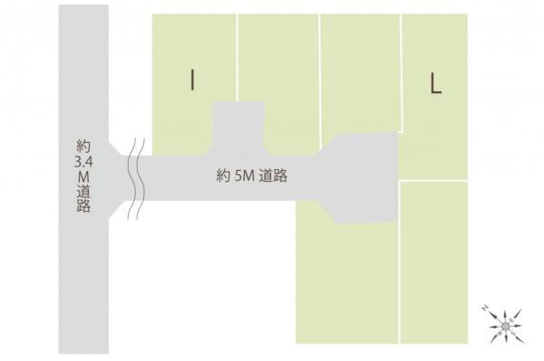 土地 鶴ヶ島市大字脚折 東武東上線若葉駅 1300万円~1650万円