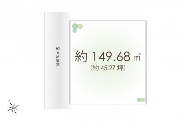 土地 東村山市青葉町3丁目 JR武蔵野線新秋津駅 2200万円