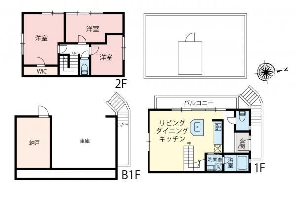 中古戸建 板橋区赤塚4丁目 東武東上線成増駅 5280万円