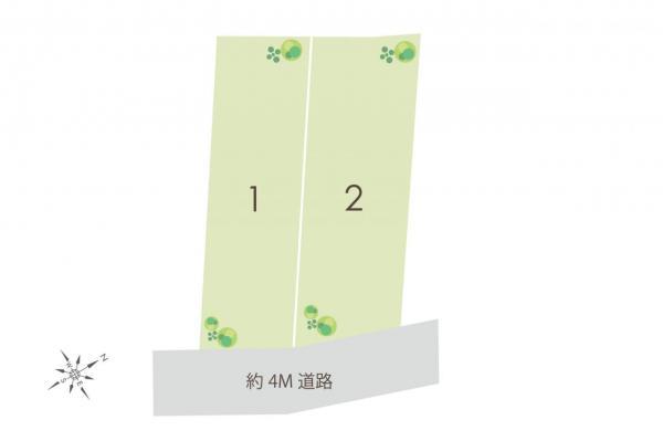 土地 富士見市鶴瀬東2丁目 東武東上線鶴瀬駅 4180万円