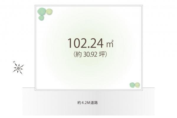 土地 狭山市大字南入曽 西武新宿線入曽駅 1350万円