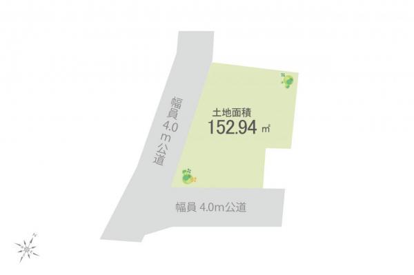 土地 狭山市富士見1丁目 西武新宿線狭山市駅 3680万円