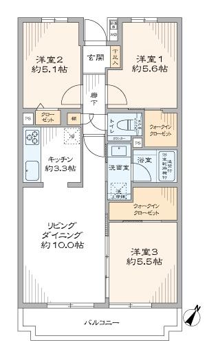 中古マンション 板橋区成増2丁目 有楽町線地下鉄成増駅 3780万円