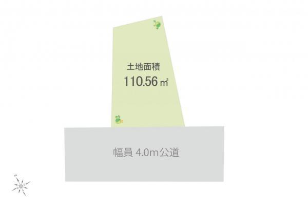 土地 入間市小谷田1丁目 西武池袋線入間市駅 1080万円