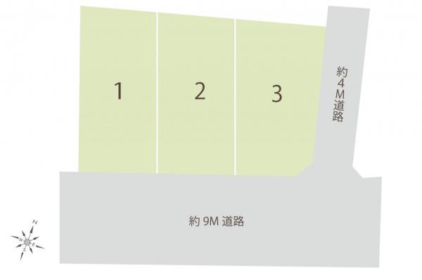 土地 坂戸市大字石井 東武東上線若葉駅 3980万円