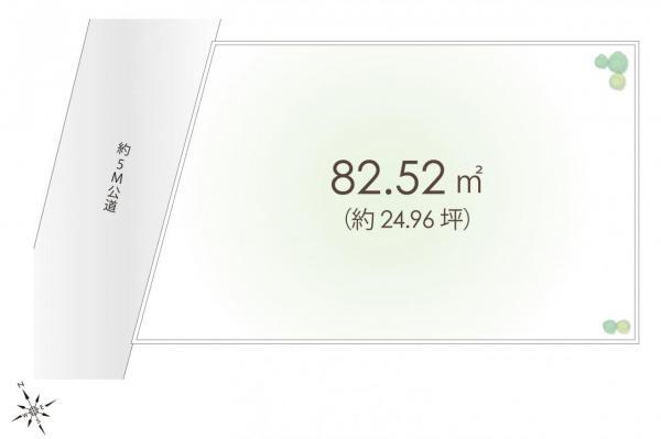 土地 朝霞市本町1丁目 東武東上線朝霞駅 3780万円