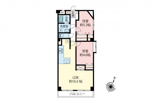 中古マンション 板橋区成増3丁目 東武東上線成増駅 3198万円