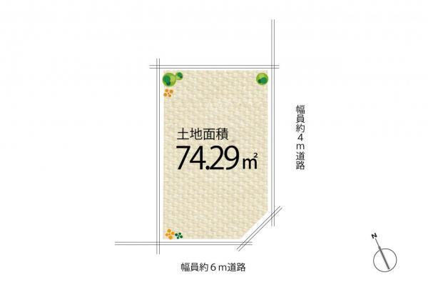 土地 坂戸市三光町 東武東上線坂戸駅 1080万円