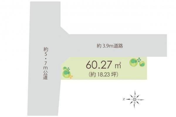 土地 練馬区桜台4丁目 西武池袋線練馬駅 4700万円