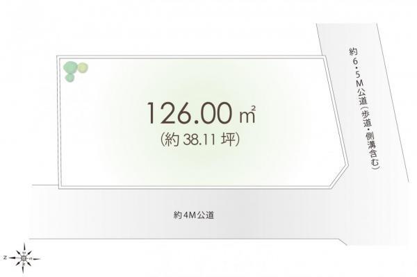 土地 川越市大字鯨井 東武東上線鶴ヶ島駅 1600万円