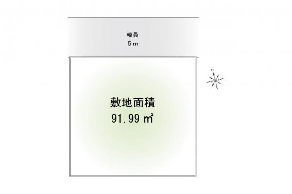 土地 所沢市中新井2丁目 西武新宿線新所沢駅 1880万円