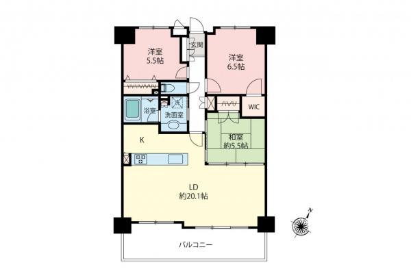 中古マンション 和光市白子3丁目 都営三田線西高島平駅 3290万円