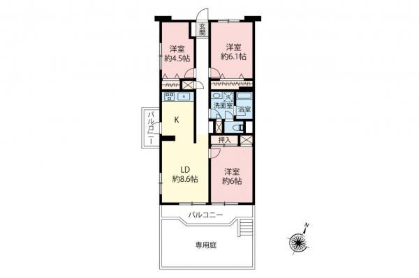 中古マンション 志木市館2丁目 東武東上線柳瀬川駅 2150万円