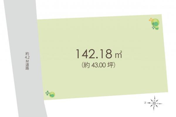 土地 練馬区大泉学園町4丁目 西武池袋線大泉学園駅 4200万円