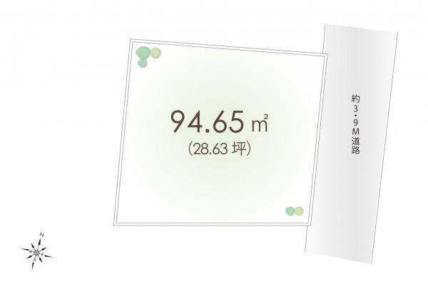 土地 東村山市久米川町2丁目 西武新宿線東村山駅 1880万円