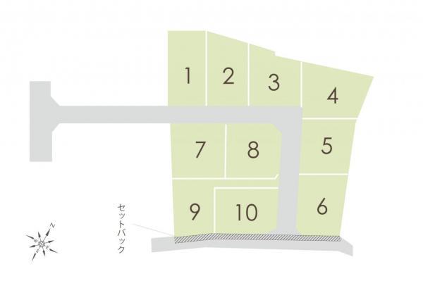 土地 富士見市大字上南畑 東武東上線志木駅 1980万円~2280万円
