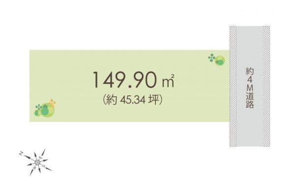 土地 川越市神明町 西武新宿線本川越駅 2580万円