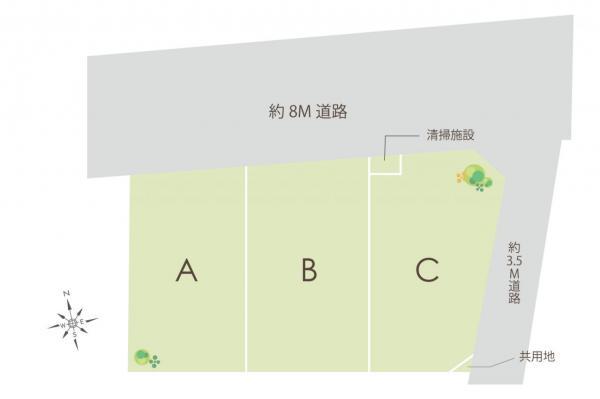 土地 富士見市大字水子 東武東上線みずほ台駅 2510万円~2580万円
