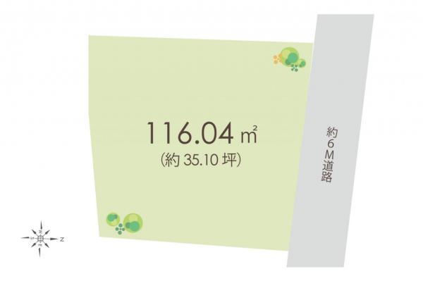 土地 ふじみ野市市沢3丁目 東武東上線ふじみ野駅 3980万円