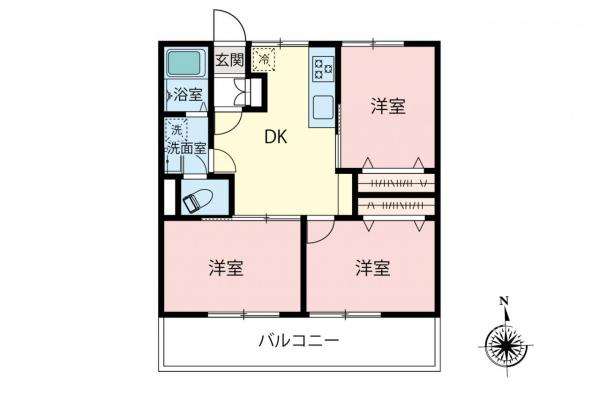 中古マンション 板橋区高島平1丁目 都営三田線西台駅 2399万円