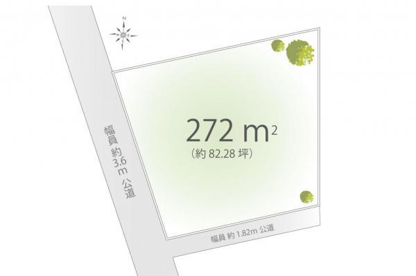 土地 東村山市美住町2丁目 西武新宿線東村山駅 5740万円