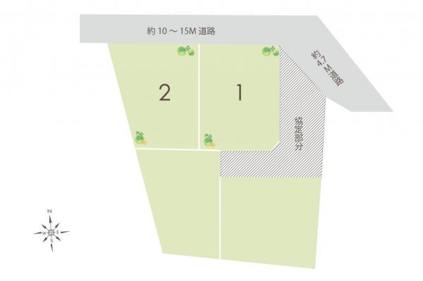 土地 川越市大字寺尾 東武東上線上福岡駅 1390万円