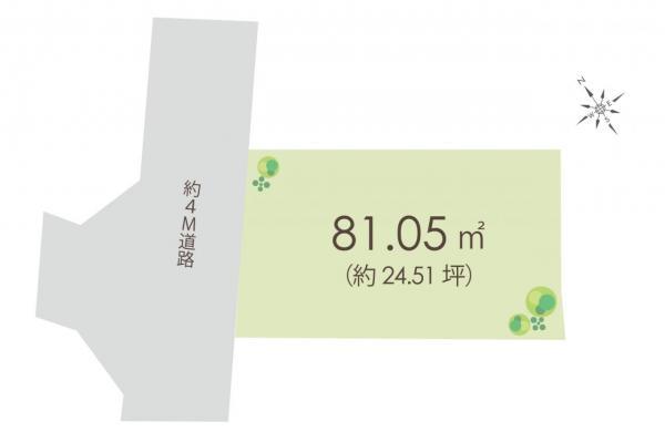 土地 ふじみ野市北野1丁目 東武東上線上福岡駅 1980万円