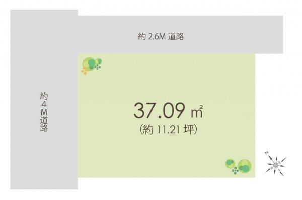 土地 和光市白子2丁目 副都心線地下鉄成増駅 1380万円