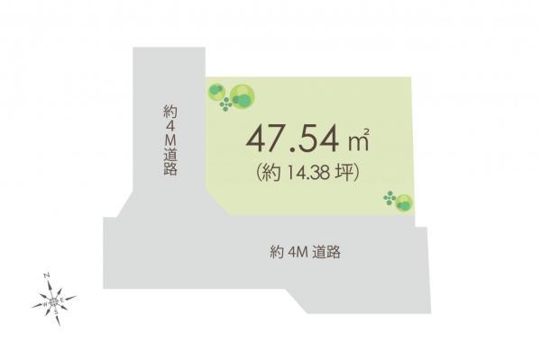 土地 朝霞市根岸台7丁目 東武東上線朝霞駅 1120万円