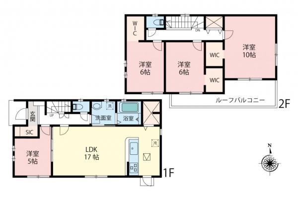 新築戸建 所沢市大字本郷 JR武蔵野線東所沢駅 3880万円