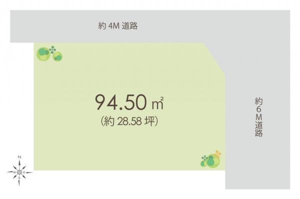 土地 戸田市大字新曽 JR埼京線戸田駅 4480万円