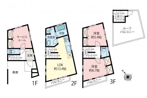 中古戸建 さいたま市南区鹿手袋4丁目 JR埼京線武蔵浦和駅 4190万円