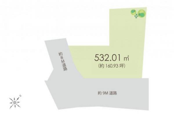土地 所沢市大字久米1290-1 西武池袋線西所沢駅 9660万円