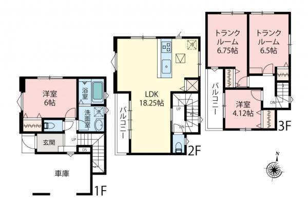新築戸建 さいたま市南区四谷2丁目 JR埼京線武蔵浦和駅 4980万円